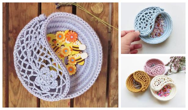 Yin Yang Paisley Dish Crochet Patterns