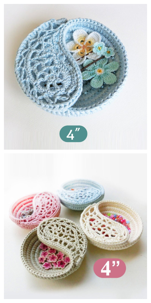 Yin Yang Paisley Dish Crochet Patterns