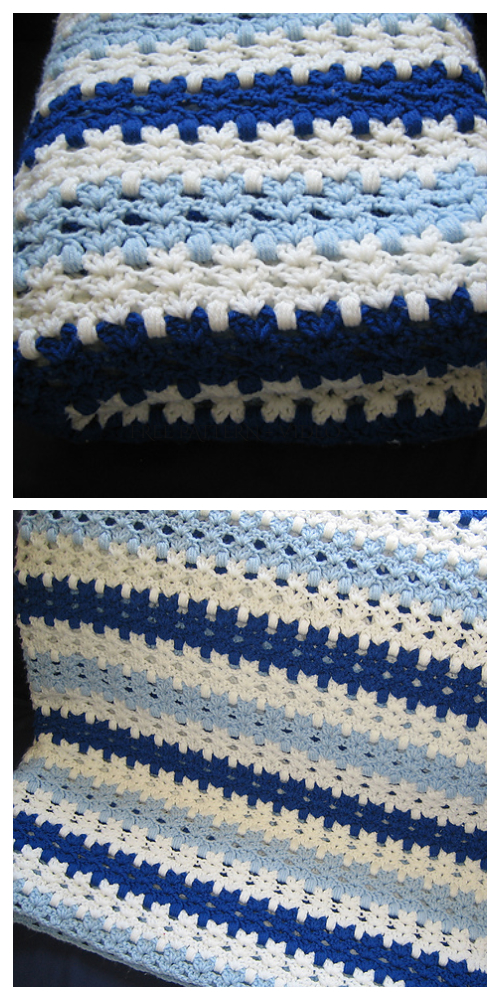 Cat Stitch Blanket Free Crochet Pattern + Video