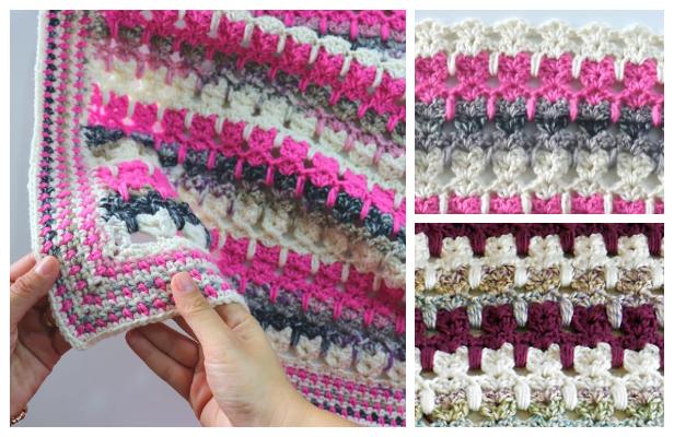 Cat Stitch Blanket Free Crochet Pattern + Video