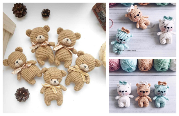 wichi bear amigurumi crochet doll free pattern tutorial | part 2 ... | 400x616