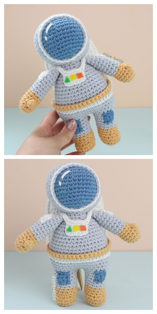 Amigurumi Astronaut Doll Crochet Pattern