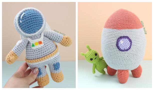 Amigurumi Astronaut Doll Free Crochet Pattern