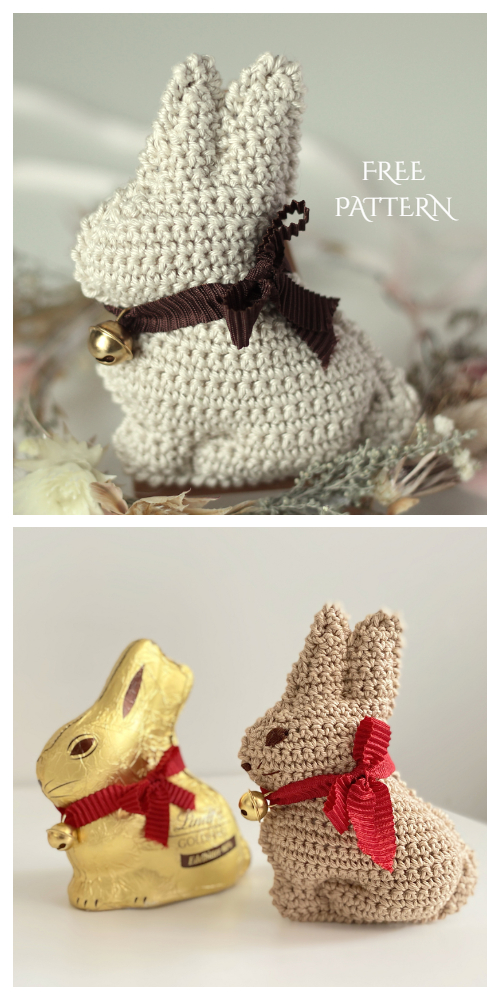 crochet) Pt1: How To Crochet an Amigurumi Rabbit - Yarn Scrap ... | 1000x500