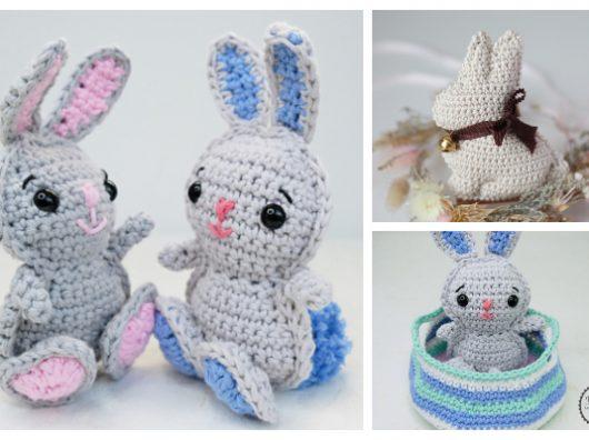 Make It: Dress Up Bunny - Free Crochet Pattern #crochet #amigurumi ... | 396x530
