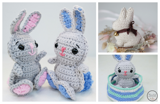 Amigurumi Easter Rabbit Free Crochet Patterns