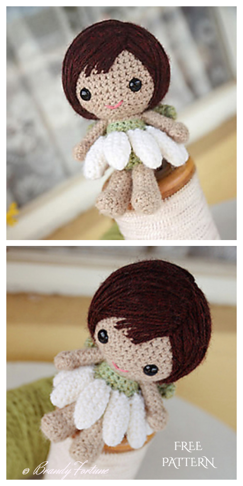 Ella the Fairy Amigurumi Crochet Pattern | 1000x500