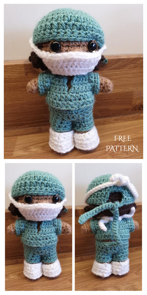 Amigurumi Doll Little Baby Free Crochet Pattern - Amigurumi Free ... | 1000x500