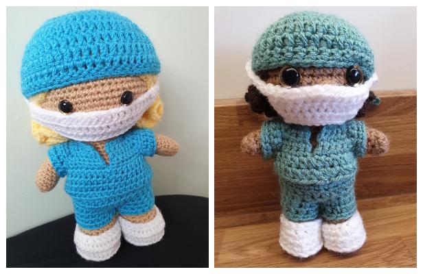Amigurumi Little Healthcare Weebee Doll Free Crochet Patterns