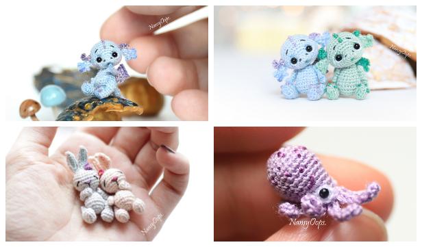 Amigurumi Mini Pug Free Crochet Patterns