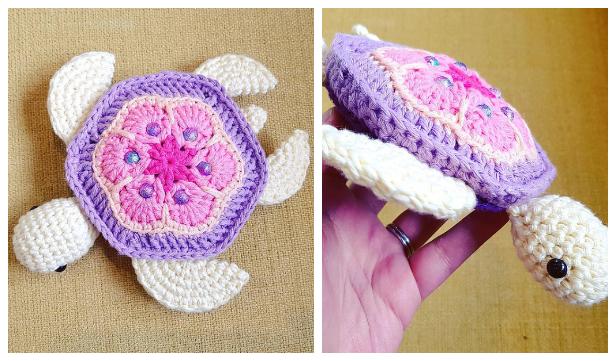 Amigurumi Sea Turtle Free Crochet Pattern