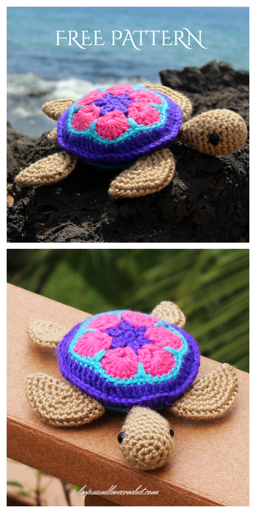 Amigurumi Sea Turtle Free Crochet Pattern