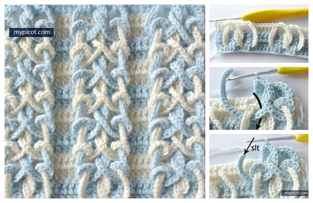 Knot Stitch Free Crochet Pattern + Video