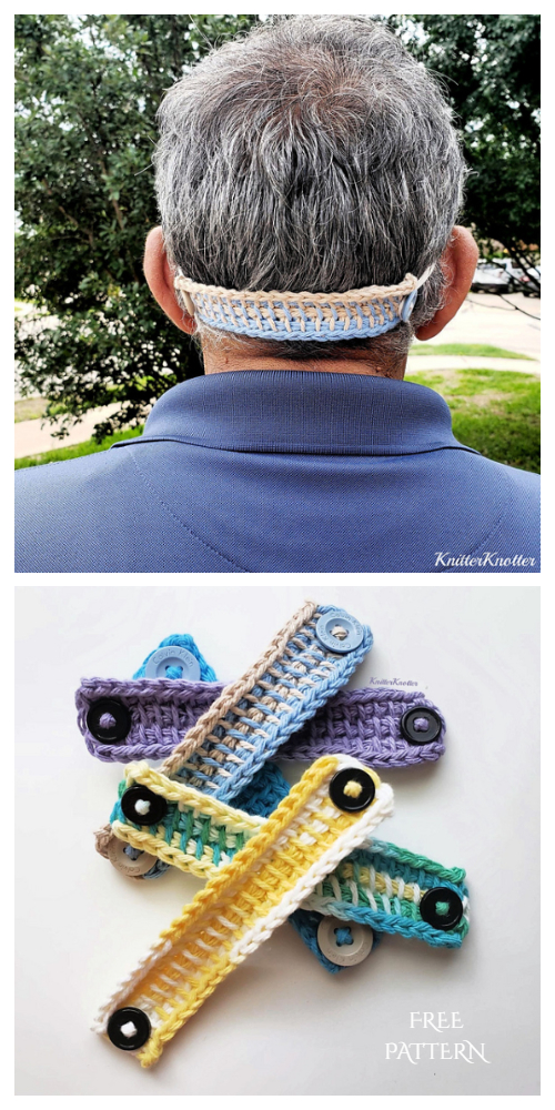 Quick Mask Straps Mates Free Crochet Patterns
