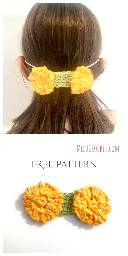 Quick No Button Mask Mates Free Crochet Patterns