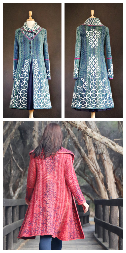 Sashiko Happy Coat Crochet Pattern