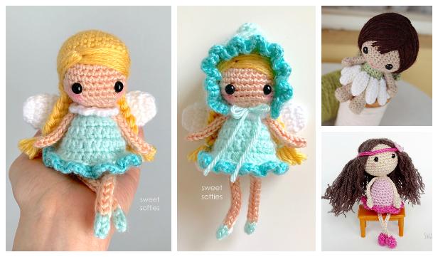 Amigurumi Fairy Doll Free Crochet Patterns