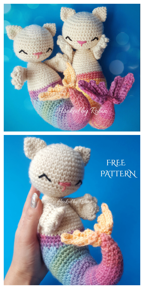 Amigurumi Purmaid Free Crochet Patterns