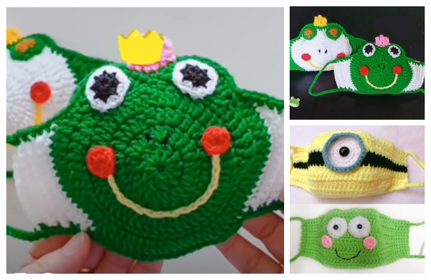 Minion and Frog Mask Crochet Patterns + Video