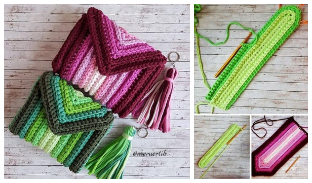 Scrap Yarn Bag Free Crochet Pattern + Video