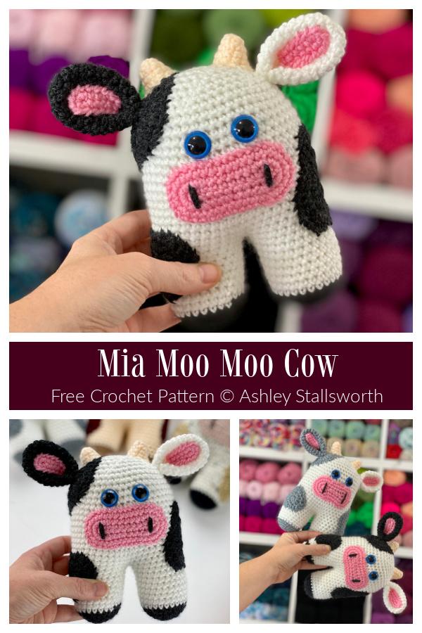 Crochet Mia Moo Moo Cow Amigurumi Free Patterns