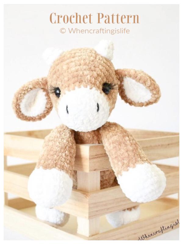 Crochet Colbie The Cow Amigurumi Patterns