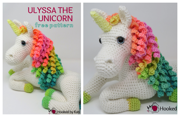 20 Most Amazing Unicorn Amigurumi Patterns | Crochet Arcade | 400x616