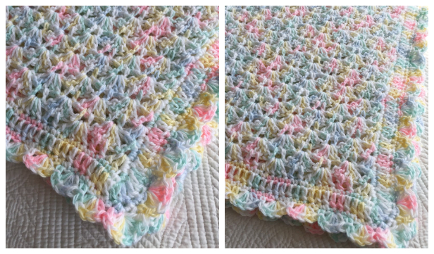 Easy Baby Blanket Free Crochet Pattern