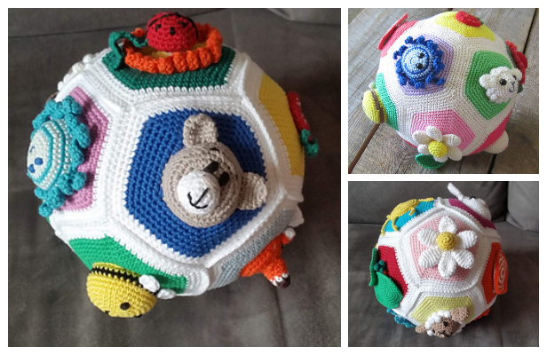 Educational Baby Ball Free Crochet Patterns