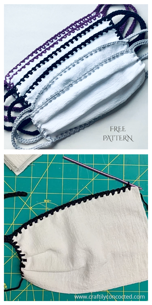 Fabric Face Mask Free Crochet Patterns