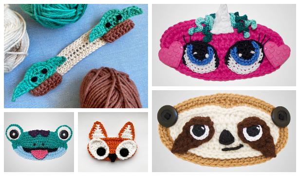 Fun Face Mask Mate Ear Saver Free Crochet Patterns