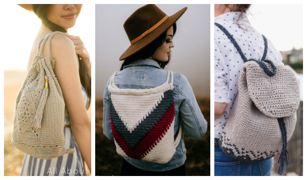 Summer Backpack Free Crochet Patterns