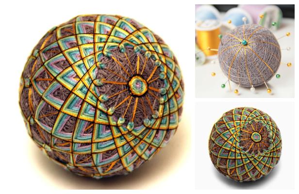 Fun Temari Thread Ball DIY Tutorial
