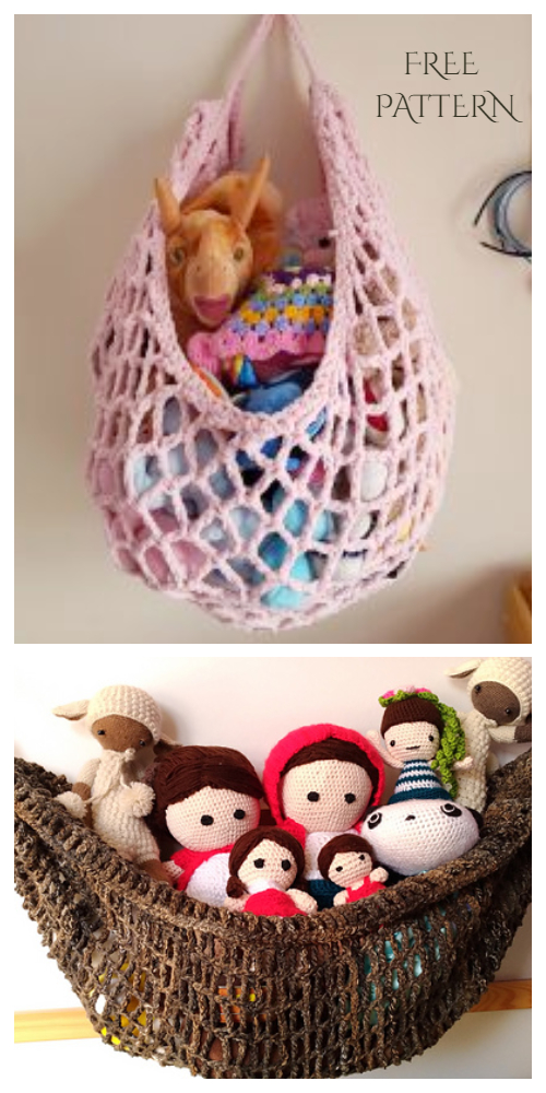 Toy Hammock Free Crochet Patterns