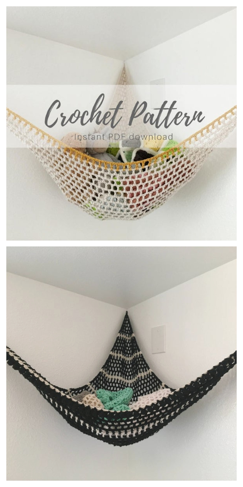 Toy Hammock Crochet Patterns