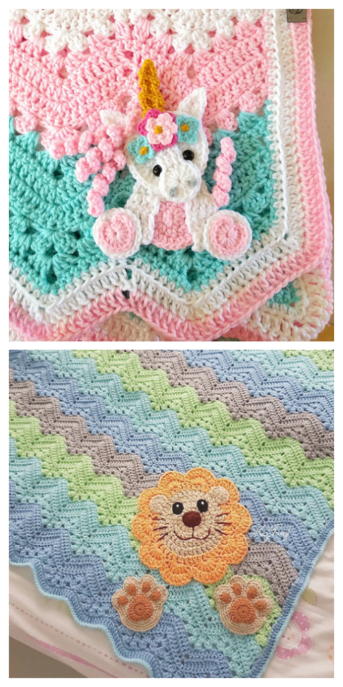 Chevron Blanket Free Crochet Patterns