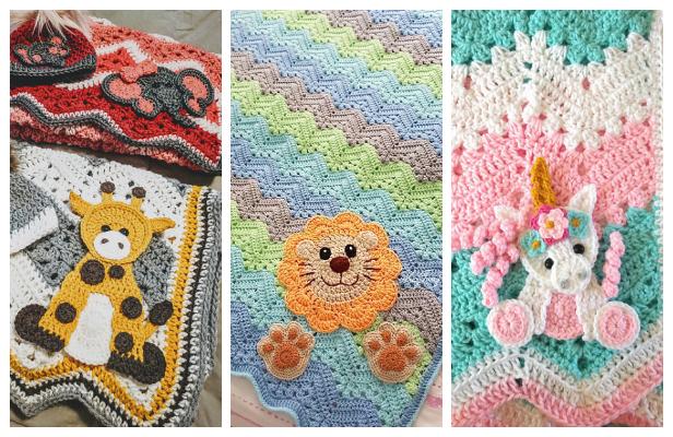Chevron Blanket Free Crochet Patterns