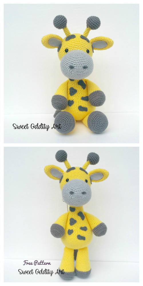 Crochet Giraffe Amigurumi Free Patterns