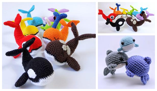 Crochet Little Whale Amigurumi Free Patterns