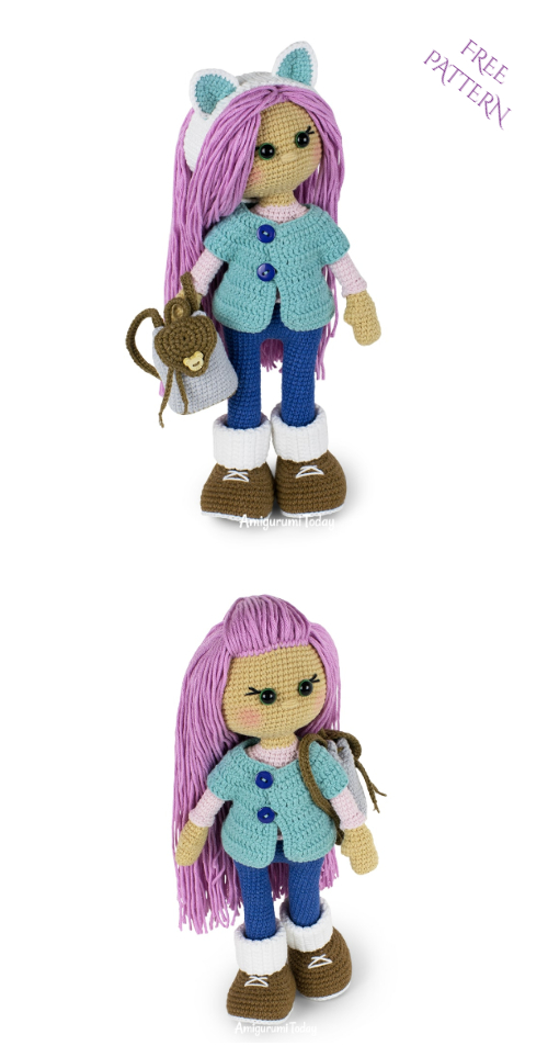 Crochet Molly Doll Amigurumi Free Patterns