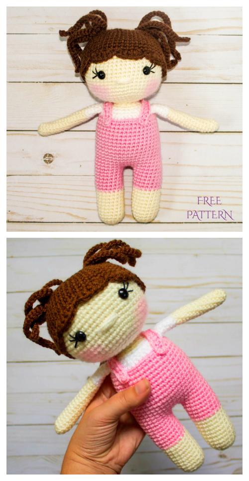 Crochet Molly Doll Amigurumi Free Patterns