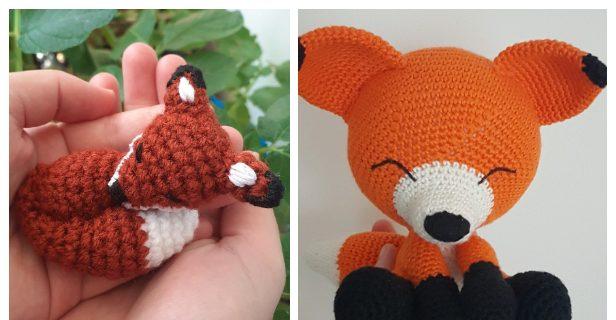 The sleepy fox amigurumi pattern   Amigurumi fox pattern, Crochet ...   320x616