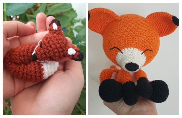 Amigurumi Fox (Free Crochet Pattern) by Allison Hoffman - Craftfoxes   400x616