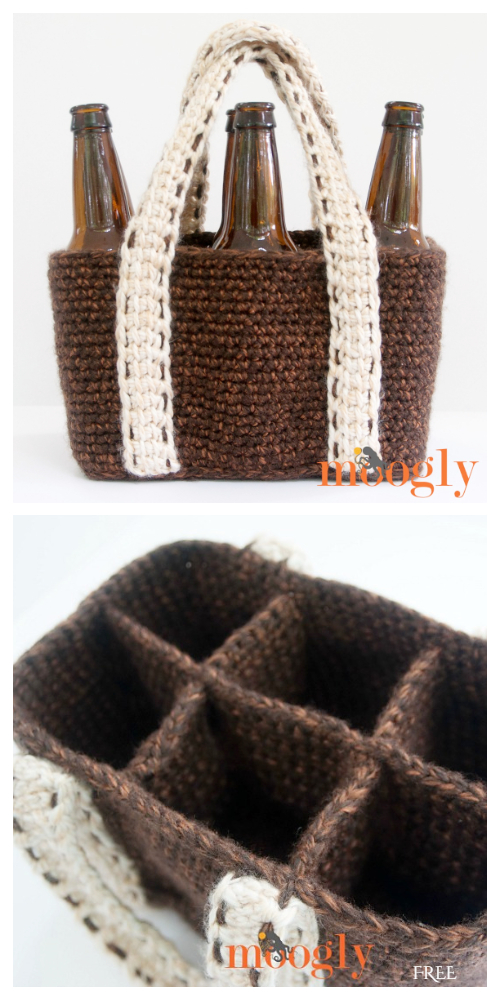 Tie Gift Bag Free Crochet Pattern