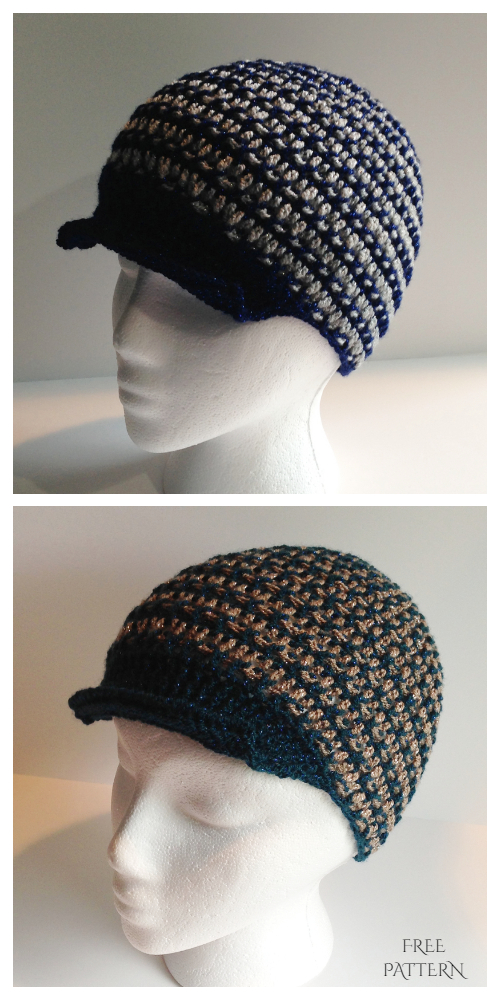 Father's Day Hat Free Crochet Pattern