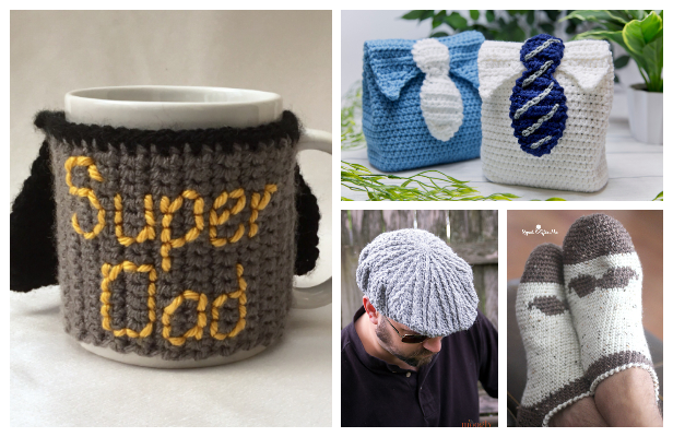 Father's Day Gift Free Crochet Patterns