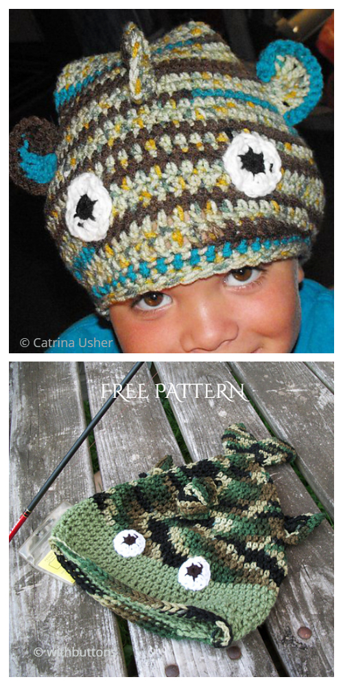 Fun Fish Hat Free Crochet Patterns