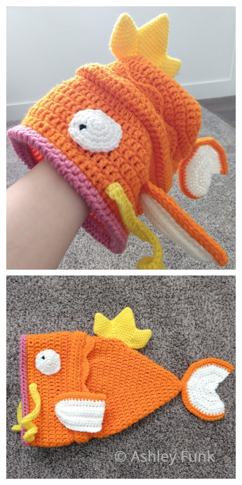 Fun Fish Hat Crochet Patterns