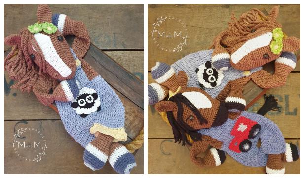 Horse Ragdoll Free Crochet Patterns