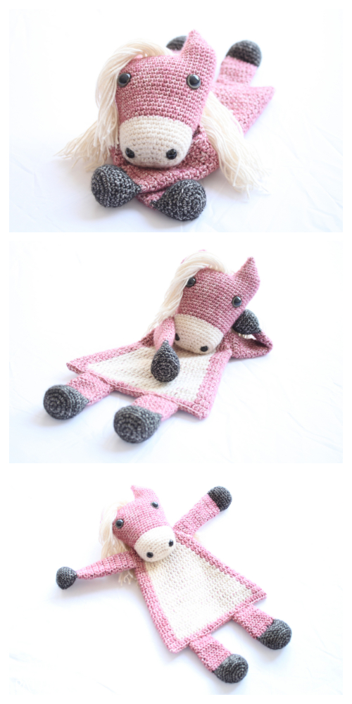 Horse Ragdoll Crochet Patterns